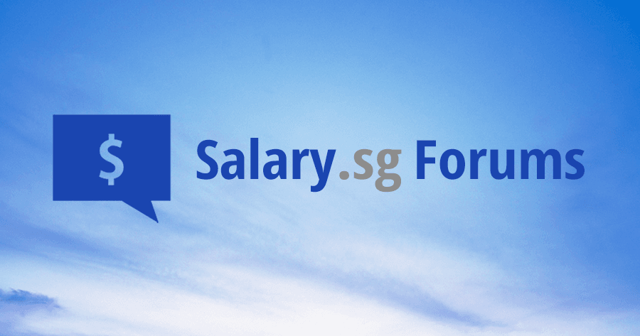 Income and Jobs - Salary sg Forums